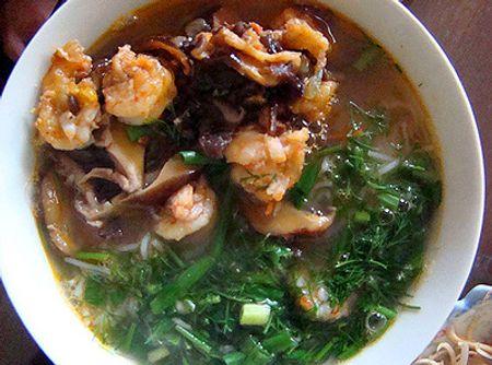 Bún tôm - món ăn dân dã của Hải Phòng