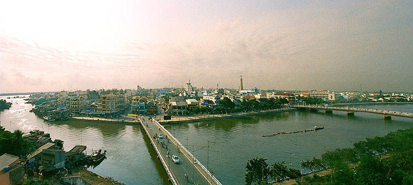 Toàn cảnh thành phố Long Xuyên