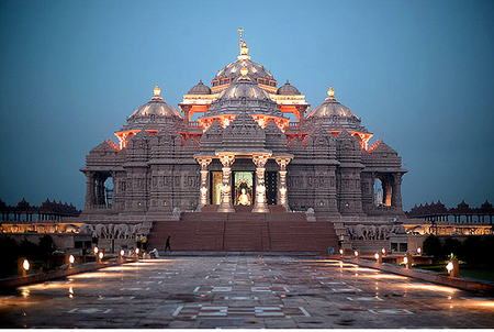 Đền Swaminarayan-akshardham ở thủ đô Delhi