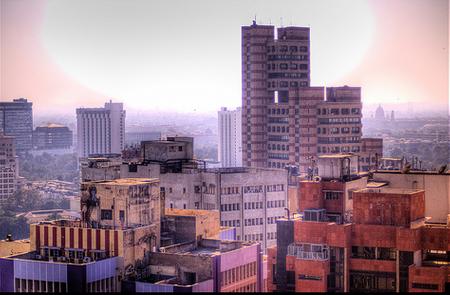 thủ đô New Delhi với những kiến trúc hiện đại