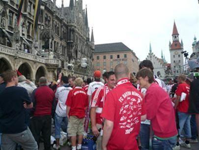 Các fan của đội Bayern Munich