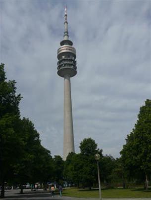 Tháp Olympics trong công viên Olympics
