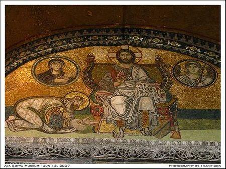 nhà thờ Thiên chúa giáo lớn Aya Sofya