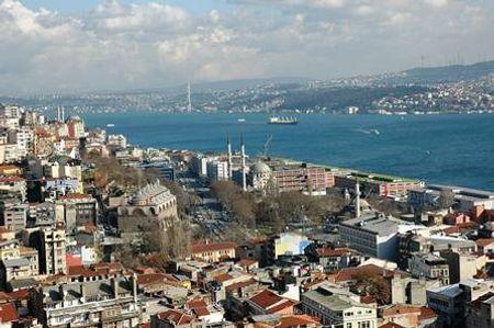 Khu vực Beyoglu