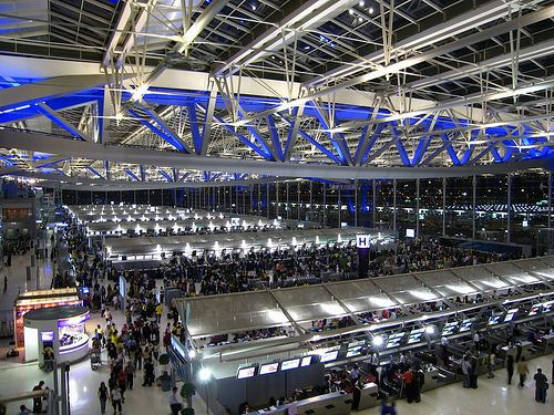 Bên trong sân bay Suvarnabhumi
