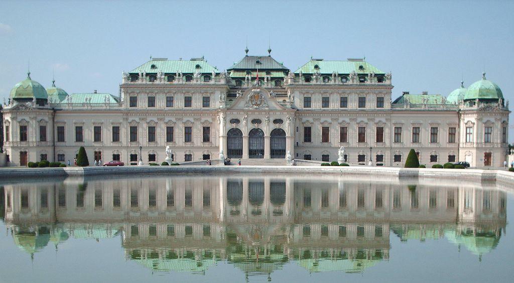 Belvedere cung điện mùa hè của Hoàng tử Eugene