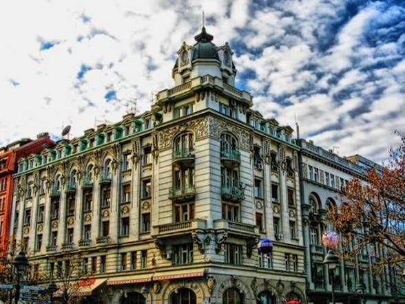 Khu thương mại Belgrade