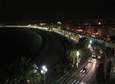 Đêm trên bến cảng Nice
