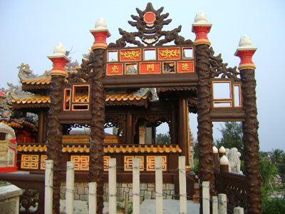Ngôi mộ được xây dựng theo kiểu mới nhất ở làng An Bằng.