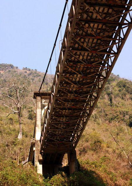 Đây là đầu cầu phía Lai Châu.