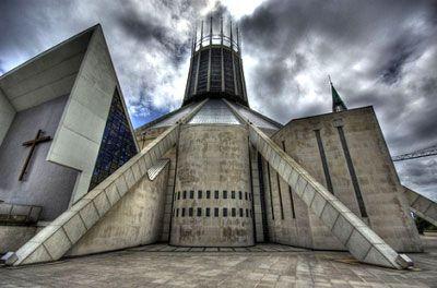 Thánh đường Liverpool Metropolitan ở Liverpool, Anh.