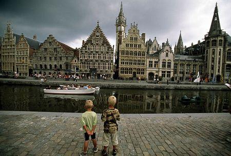 Nhưng phải nói rằng nhiều góc độ ở Bỉ rất đẹp