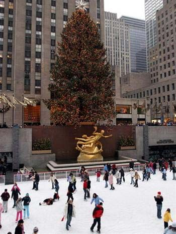 Sn trt bng ti Rockefeller Plaza