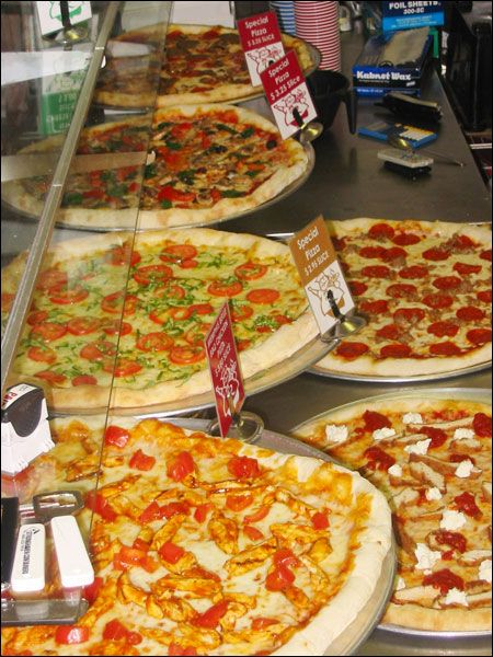 Cửa hiệu pizza