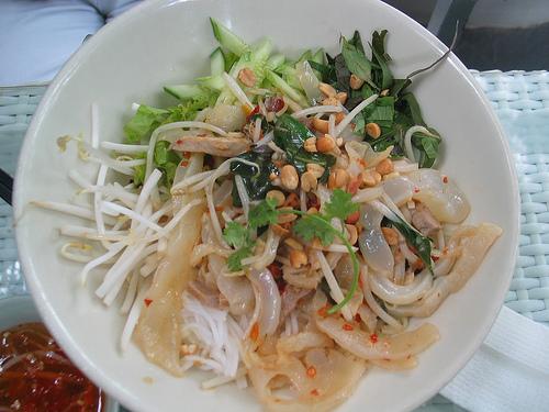 Ngon ngọt với bún sứa Nha Trang
