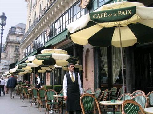 Cà phê DE La Paix, Paris