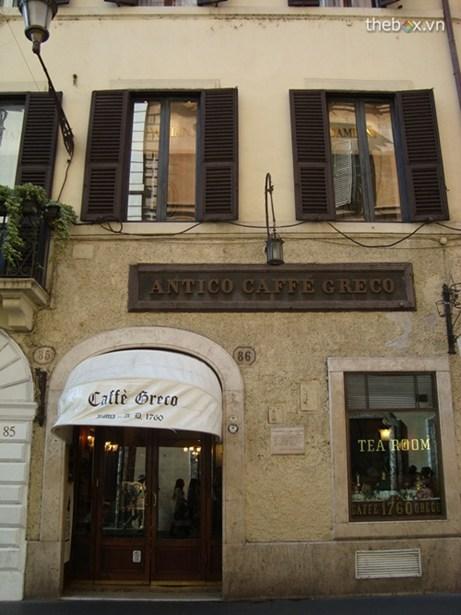 Caffe Greco, Rome