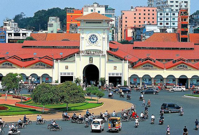 Ba ngôi chợ đặc sắc nhất Việt Nam 1