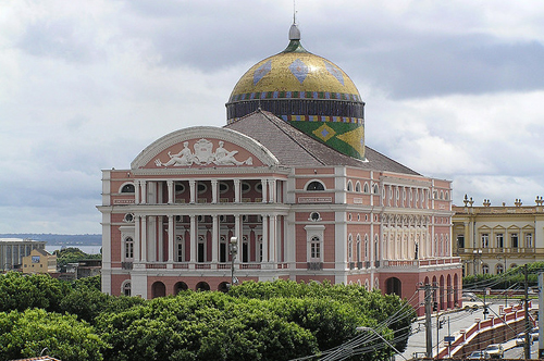 nhà hát Teatro Amazonas