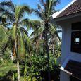 Garden view - East West Villas