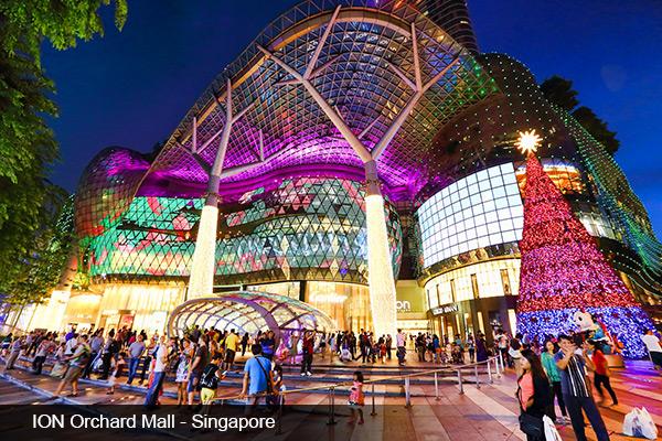 Du lịch mua sắm cuối năm - Singapore, Malaysia, Hồng Kông, Thái Lan