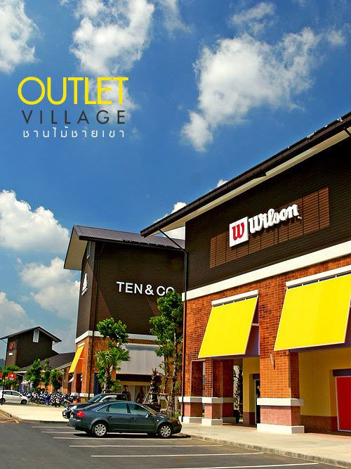 Khao Yai Outlet Village