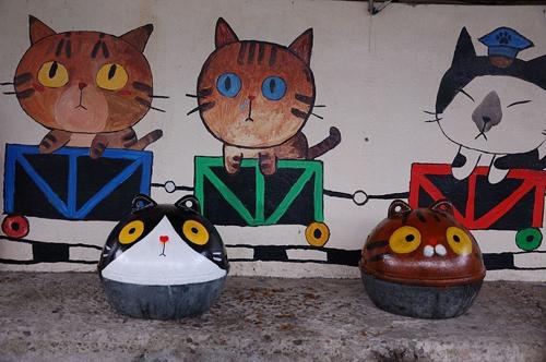 Thị trấn mèo dễ thương ở Đài Loan 12