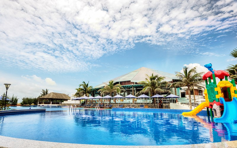 Kết quả hình ảnh cho banner carmelina Resort Hồ Tràm 4 sao