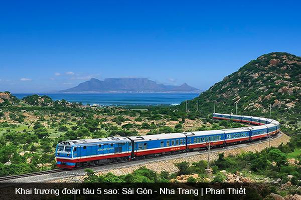 Khai trương đoàn tàu 5 sao: Sài Gòn - Phan Thiết