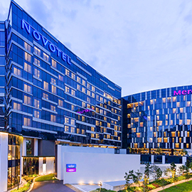Khách sạn Novotel Singapore On Stevens - Singapore