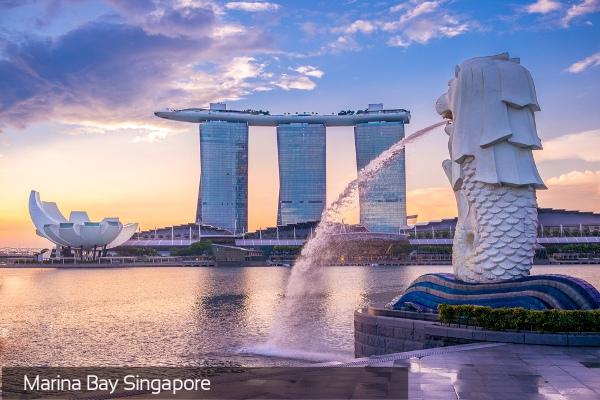 Chỉ từ 4.450.000 VND: Combo phòng + vé máy bay Singapore