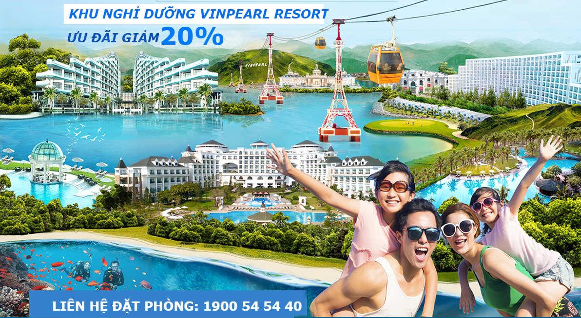 Vinpearl Resort - Ưu đãi giảm 20%
